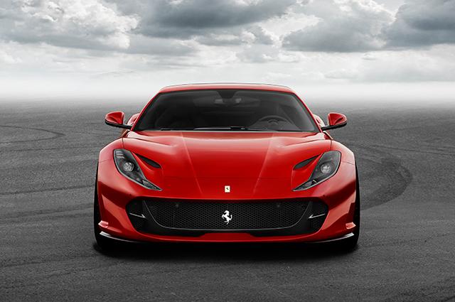 Ferrari 812 Superfast/ źródło Ferrari