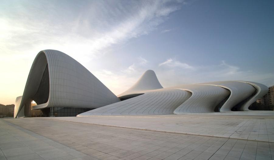 Heydar Aliyev Cultural Centre wBaku