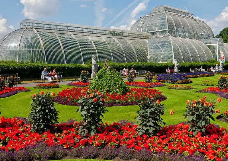 Ogrody Kew Garden wLondynie