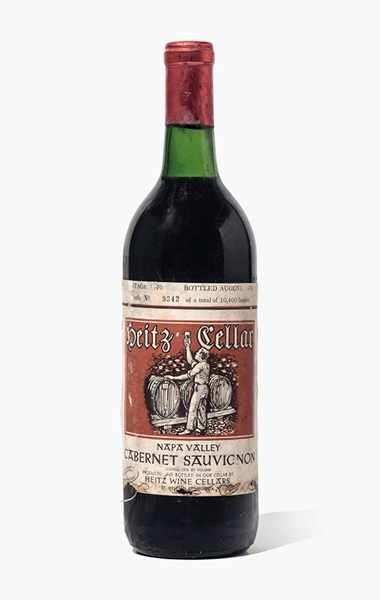 Heitz Cellars, Martha's Vineyard Cabernet Sauvignon 1970