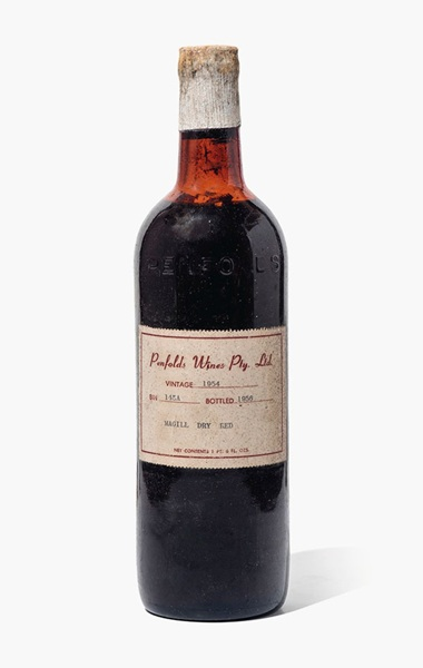 Penfolds, Magill Dry Red Bin 145A 1954